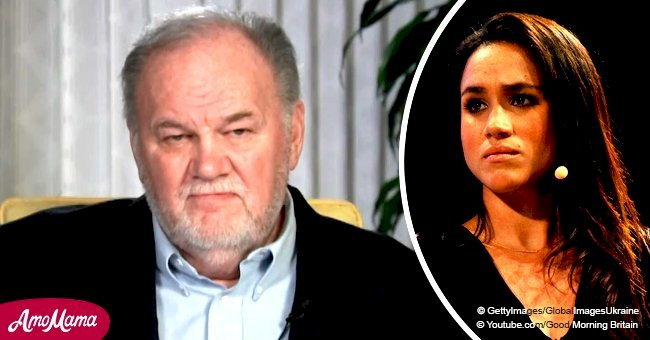 Thomas Markle sends a heart wrenching plea to Meghan asking her to 'send me a text, anything'
