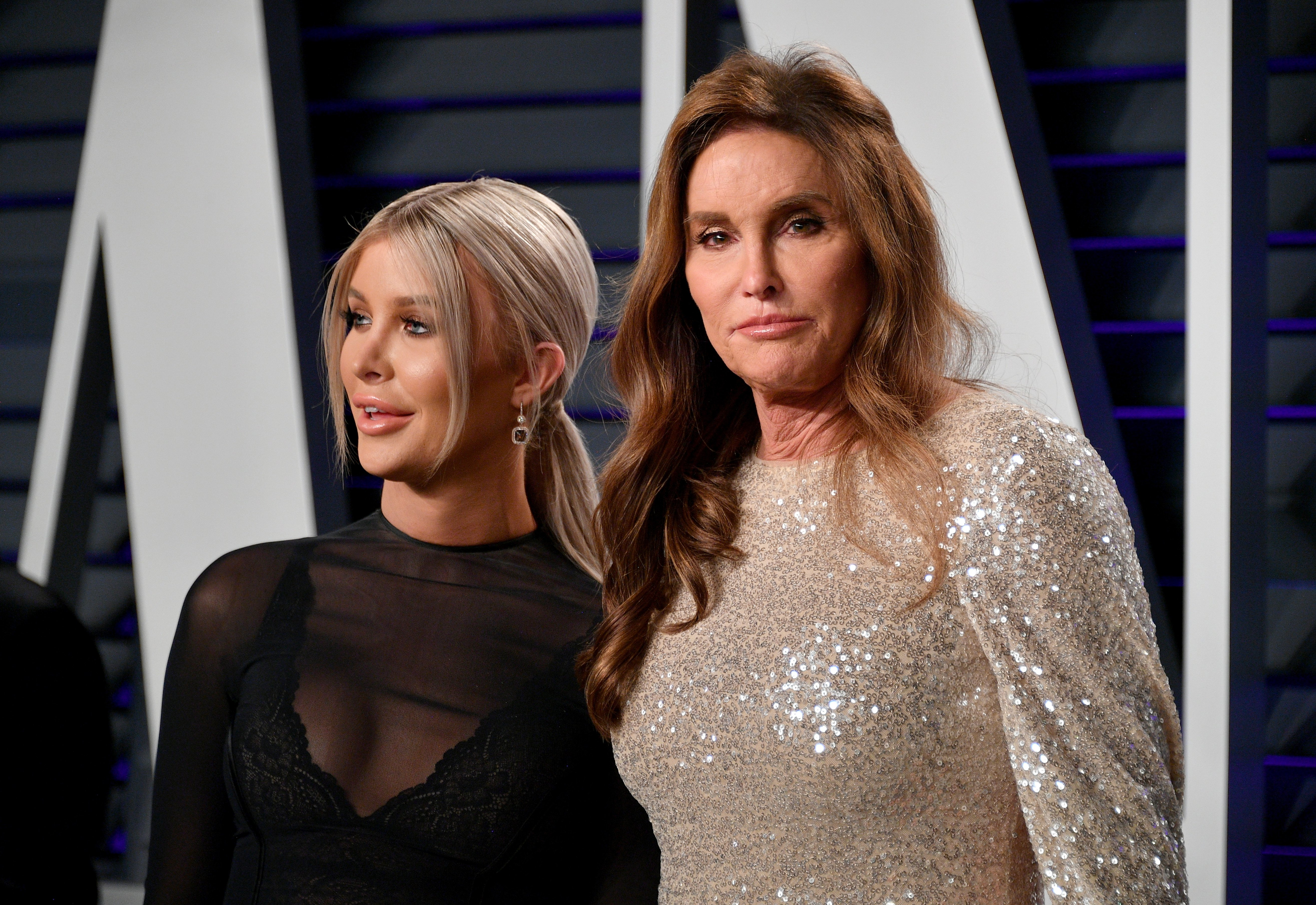 Caitlyn Jenner and Sophia Hutchins attend the Oscars Party in 2019  | Photo: Getty Images