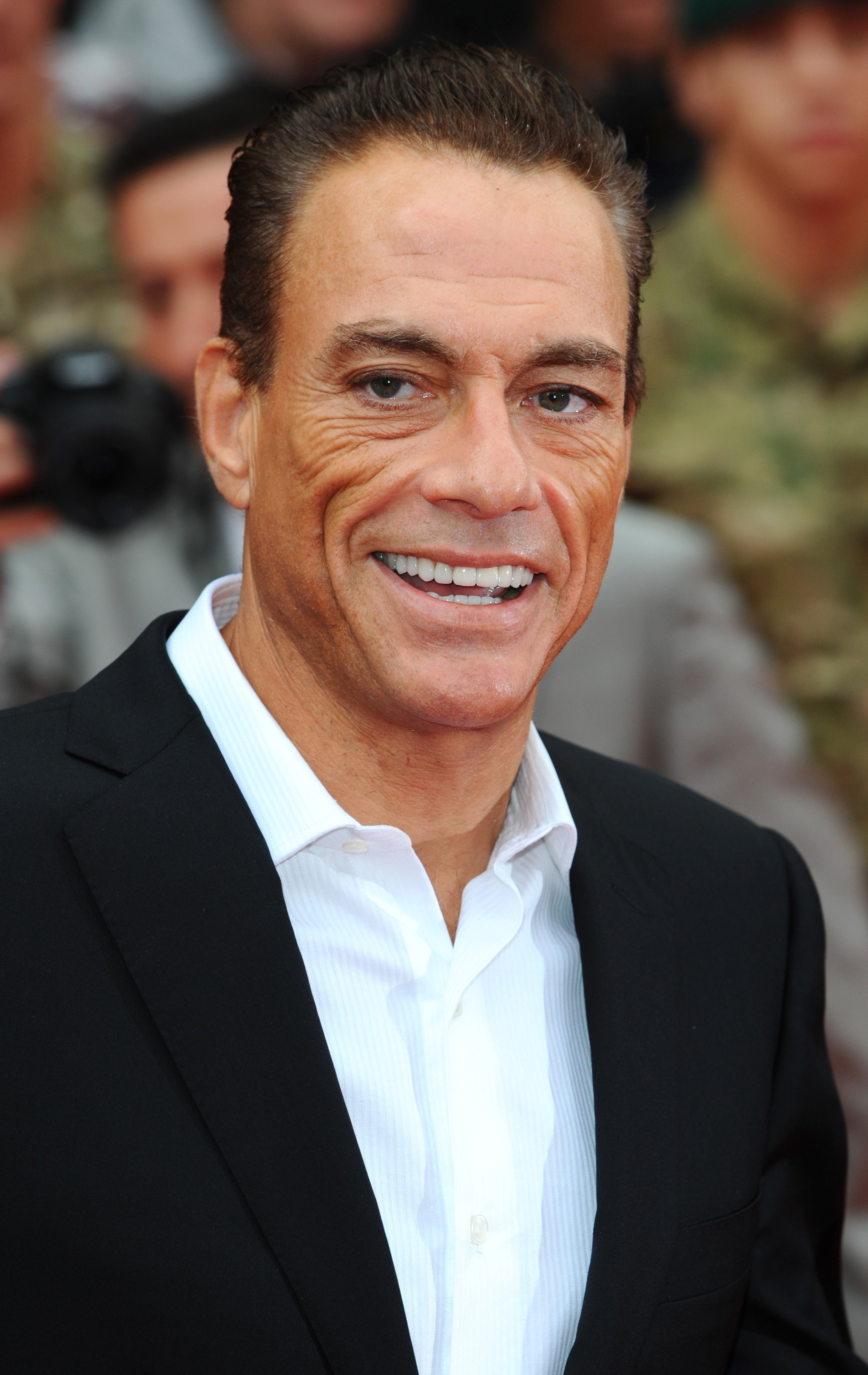 Jean-Claude Van Damme at The Expendables 2 Premiere on August 13, 2012 | Source: Getty Images.