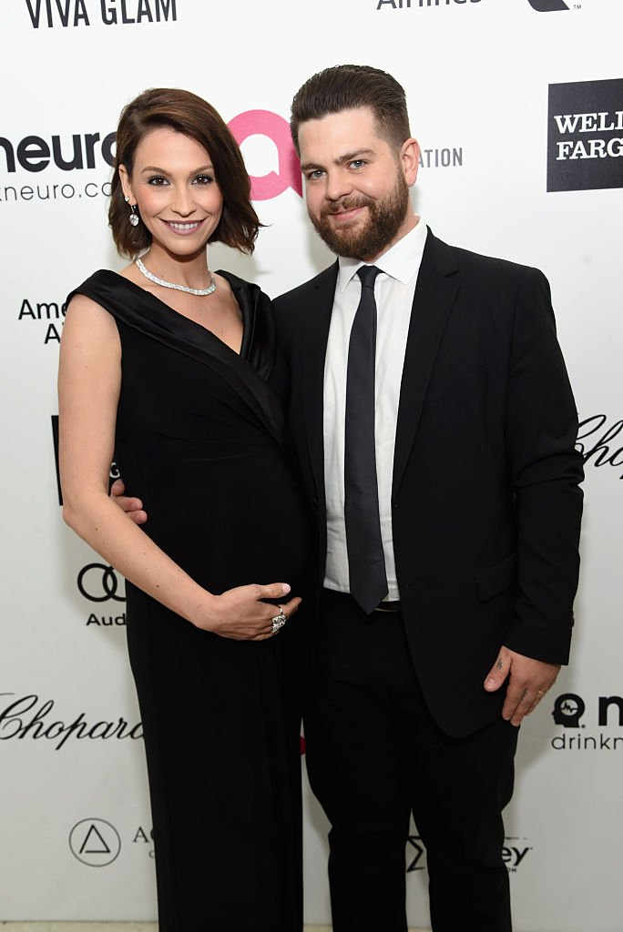 Jack Osbourne and Lisa Stelly attend the 23rd Annual Elton John AIDS Foundation Academy Awards Viewing Party    Getty Images / Global Images Ukraine