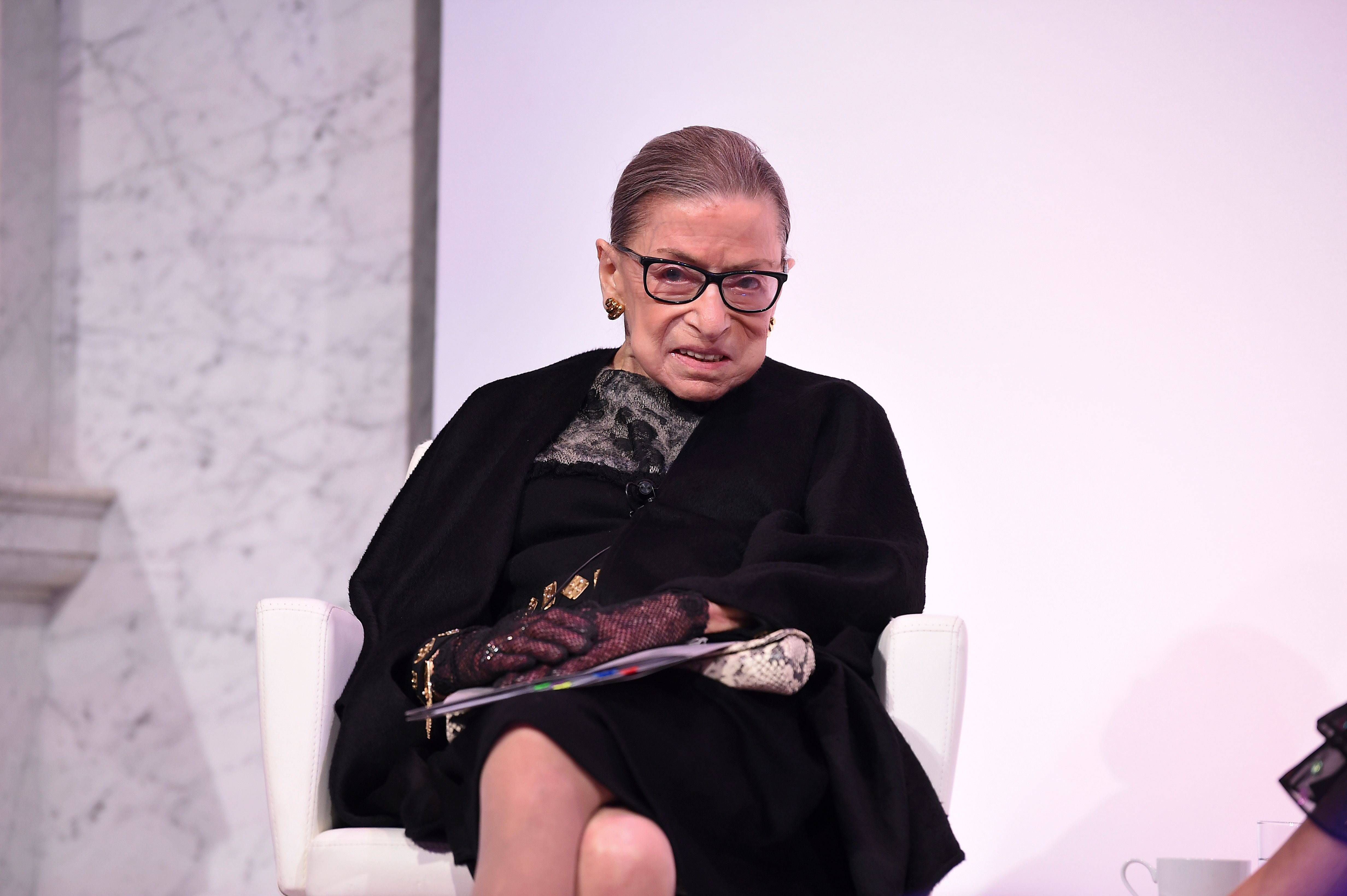 Supreme Court Justice Ruth Bader Ginsburg at the 2020 DVF Awards on February 19, 2020 | Photo: Getty Images