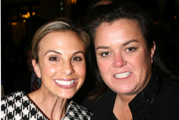 Rosie O'Donnell and Elisabeth Hasselbeck at The Broadhurst Theatre in New York in 2006 | Photo: Getty Images