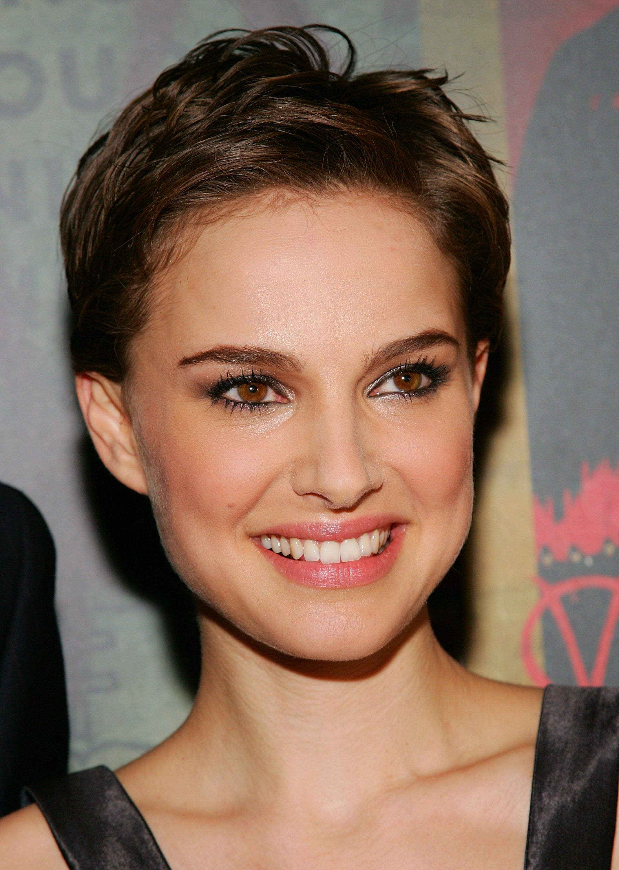 """Natalie Portman at the premiere of """"V for Vendetta""""in 2006 in New York City 