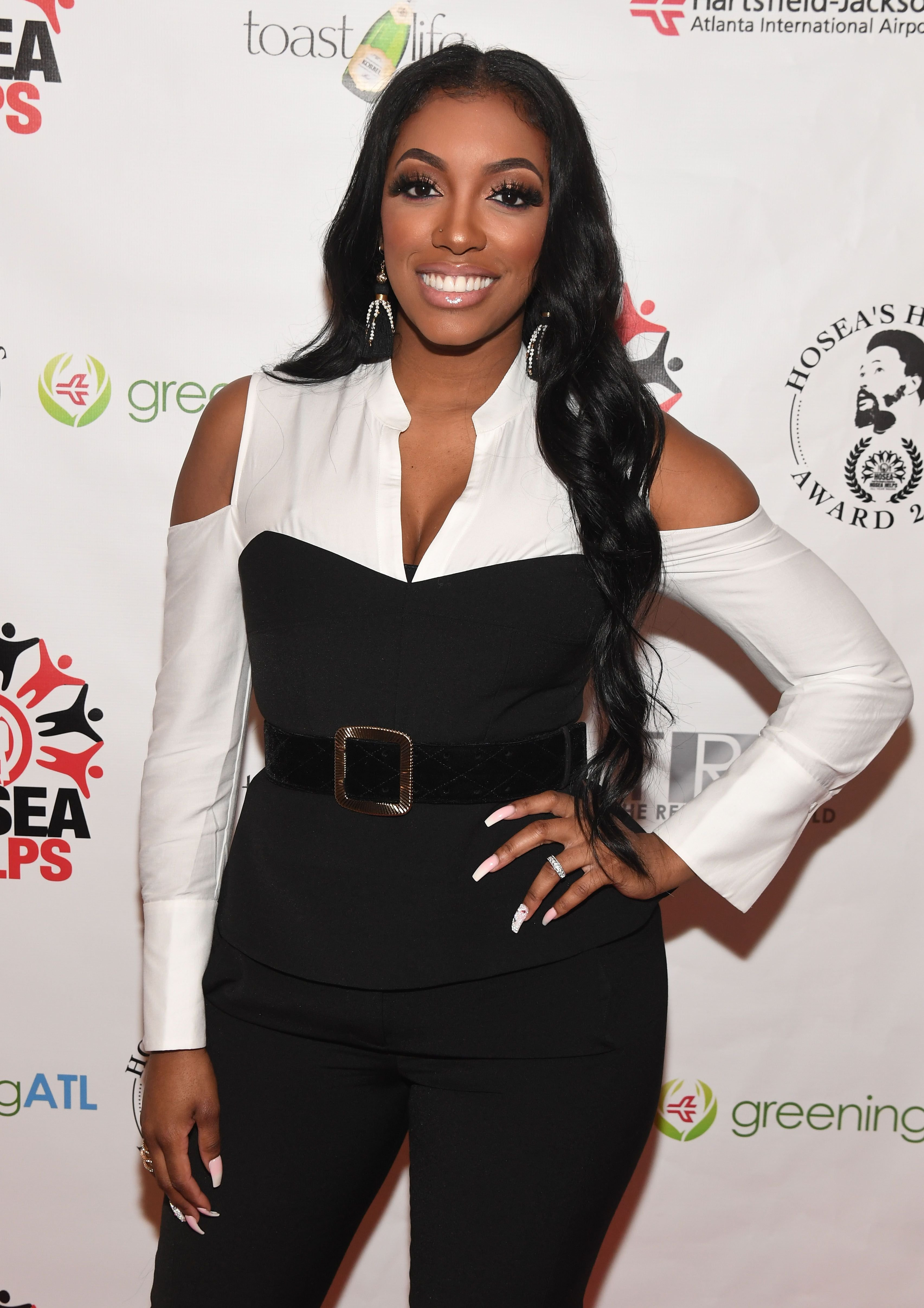 TV personality Porsha Williams at the 2018 Hosea's Heroes Awards at Loudermilk Conference Center on February 25, 2018 in Atlanta, Georgia. | Photo: Getty Images