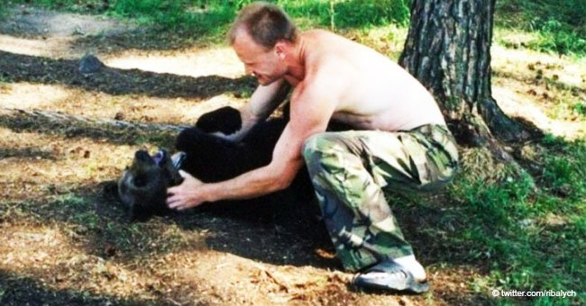 "Man saves and raises bear for 4 years but the ""friendship"" ended in tragedy"