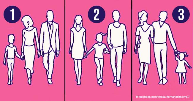 ¿Cuál familia es más unida? Un acertijo para desafiar tu pensamiento lógico