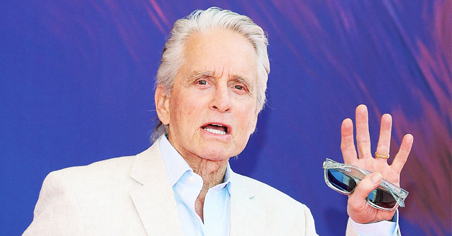 'Ant-Man' Star Michael Douglas Shares 1969 Photo with Dad Kirk on Set of His 1st Film 'Hail Hero'