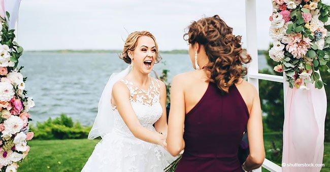 """Una novia echa a su hermana de su boda debido a su """"discurso egoísta"""""""