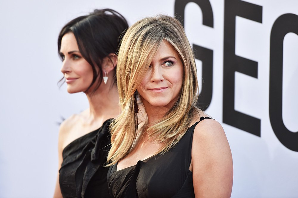 Courteney Cox and Jennifer Aniston. I Image: Getty Images.