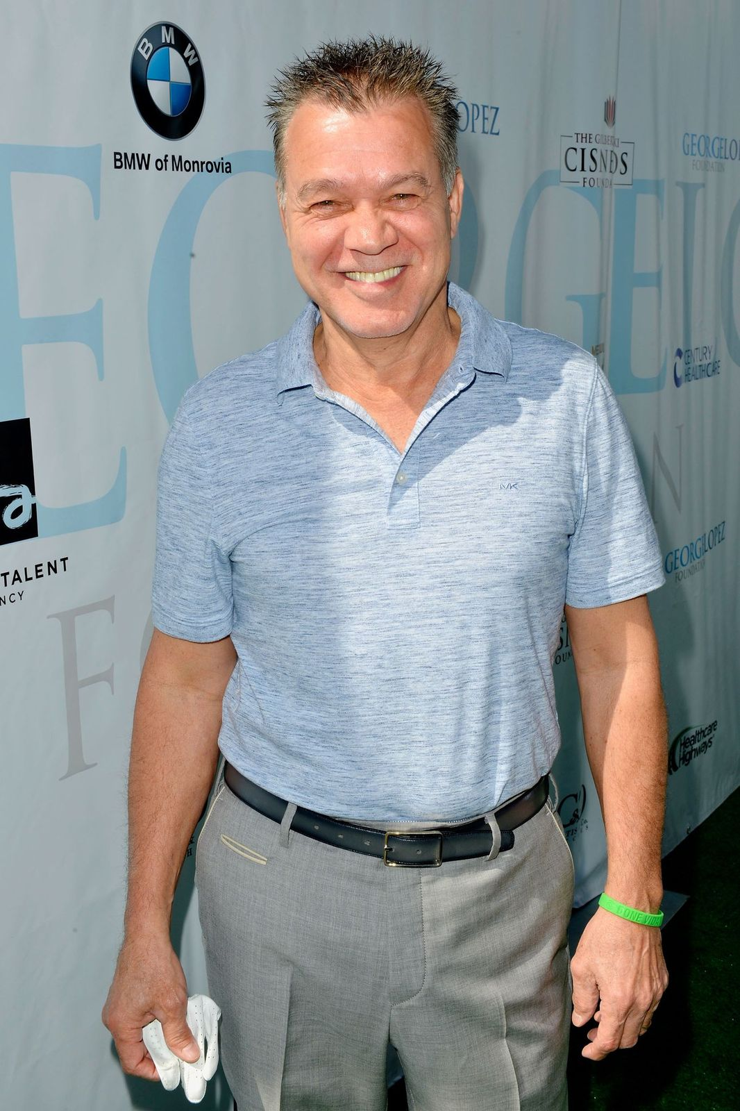 Eddie Van Halen atthe 10th Annual George Lopez Celebrity Golf Classic at Lakeside Country Club on May 1, 2017 | Photo: Getty Images