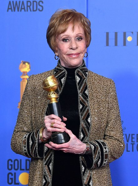 Carol Burnett at The Beverly Hilton Hotel on January 6, 2019 in Beverly Hills, California. | Photo: Getty Images