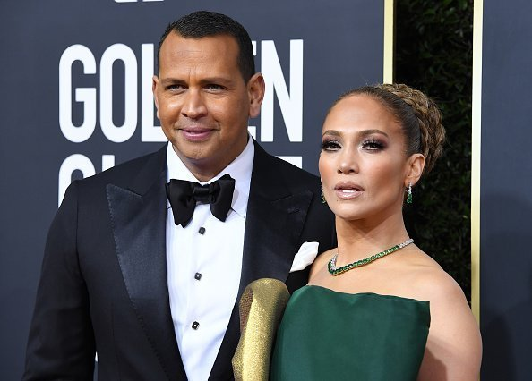 Jennifer Lopez and Alex Rodriguez arrives at the 77th Annual Golden Globe Awards attends the 77th Annual Golden Globe Awards at The Beverly Hilton Hotel on January 05, 2020 in Beverly Hills, California.|Photo : Getty Images