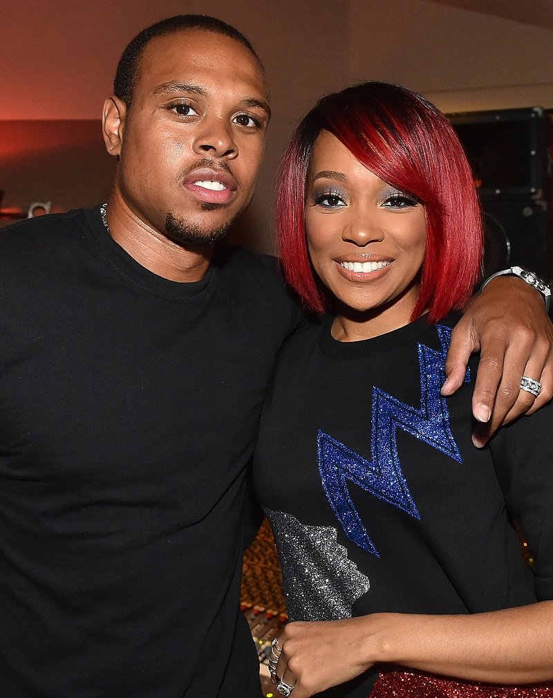 Former NBA player Shannon Brown and singer Monica Brown on August 27, 2015 in Atlanta, Georgia | Photo: Getty Images