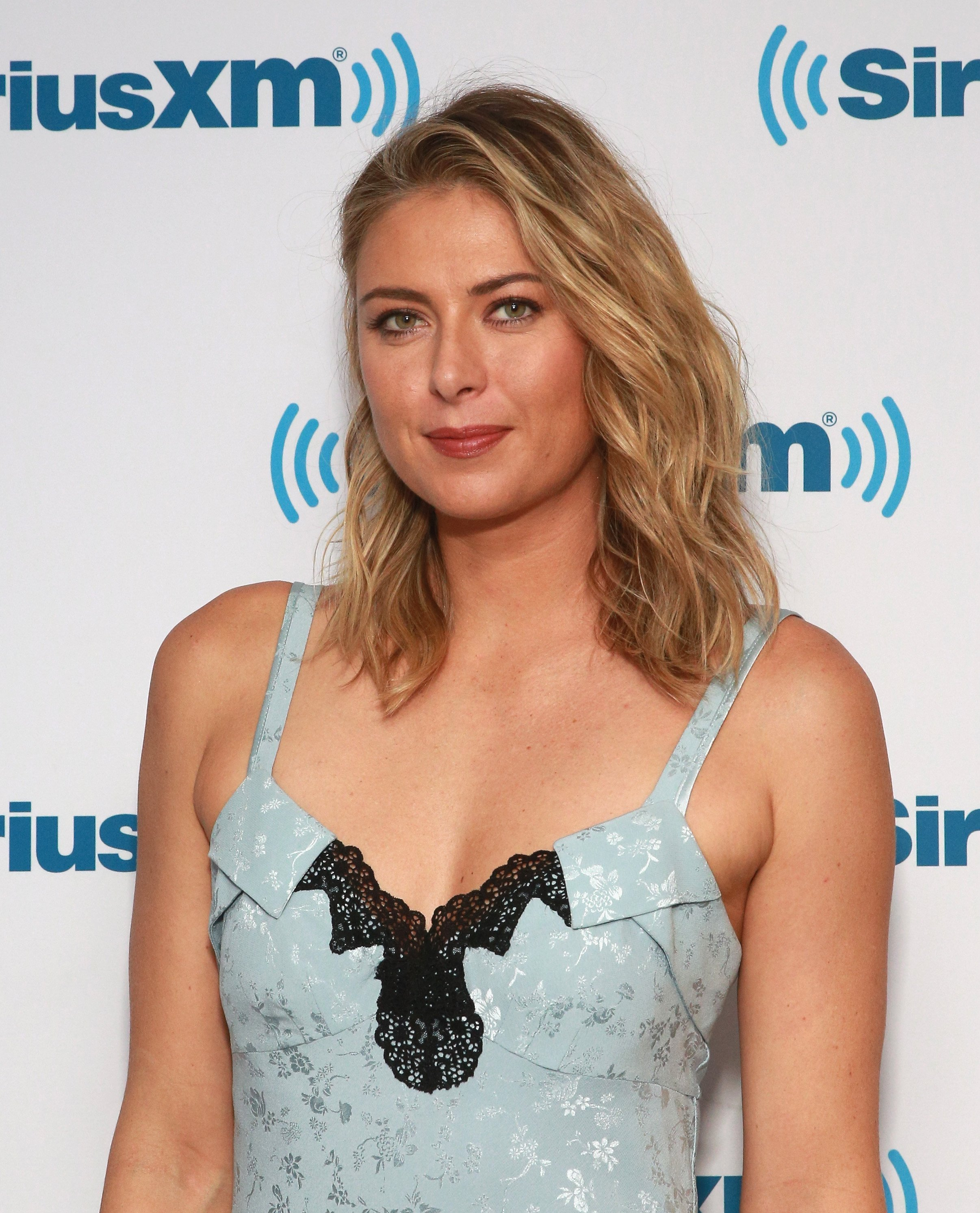 Maria Sharapova visits at SiriusXM Studios on September 13, 2017 in New York City| Photo: Getty Images