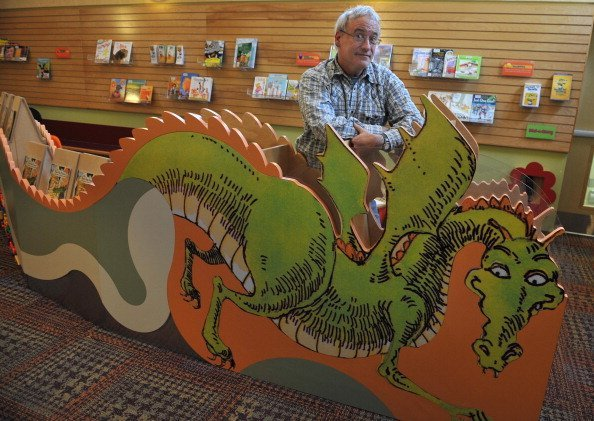 Robert Munsch at Dufferin St. Clair library  | Photo: Getty Images