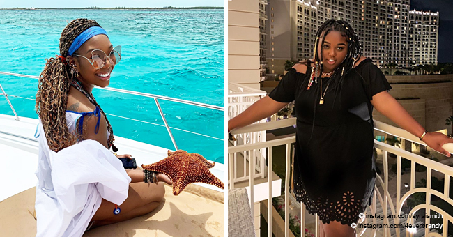 Brandy Shares Pics from Bahamas Vacation with Daughter Sy'rai
