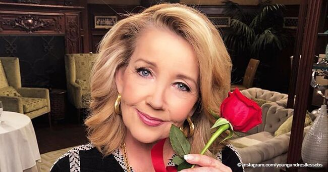 Throwback video of 'Y&R' in honor of Melody Thomas Scott's 40-year role proves her ageless beauty