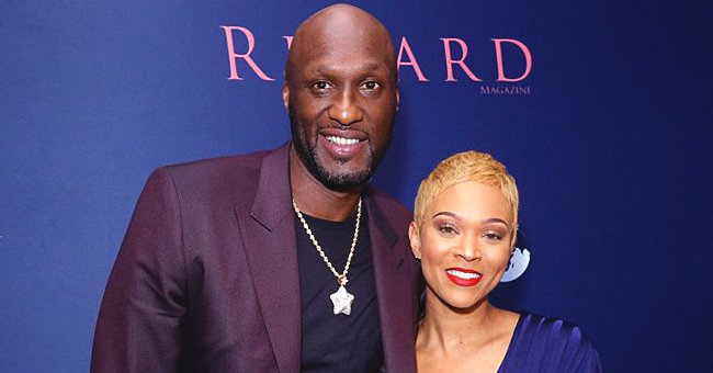 Lamar Odom's Girlfriend Sabrina Parr Shows off Her Diamond Engagement Ring after He Proposed to Her