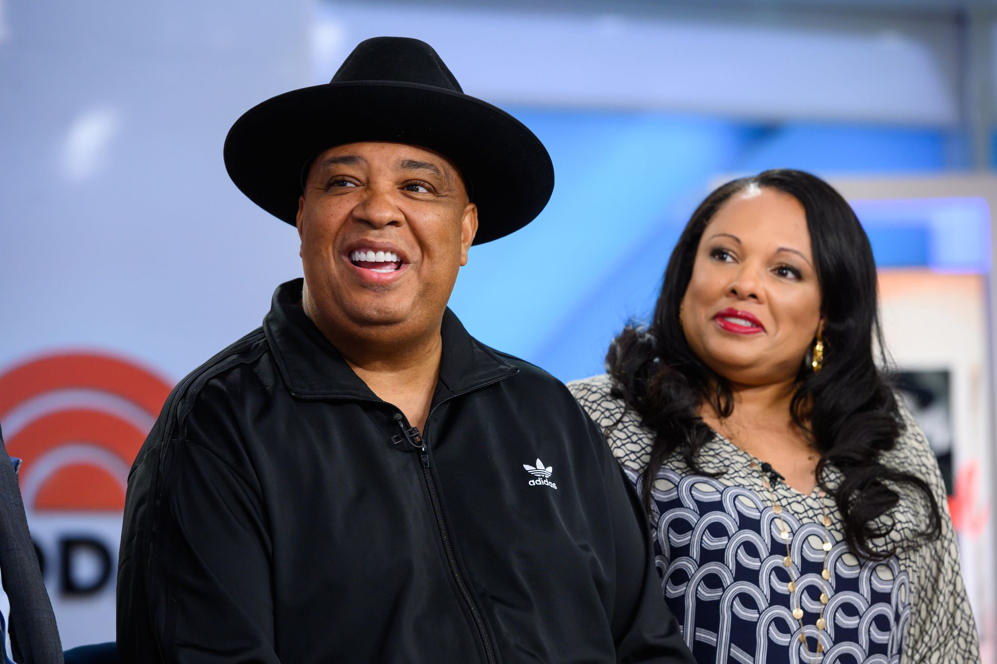 Justine Simmons and Rev Run on Tuesday, January 28, 2020. [unspecified location]   Photo: Getty Images