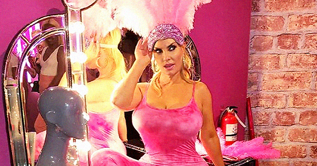 Ice-T's Wife & Model Coco Austin Shines Bright in Pink Outfit with Feathers in New Colorful Photos