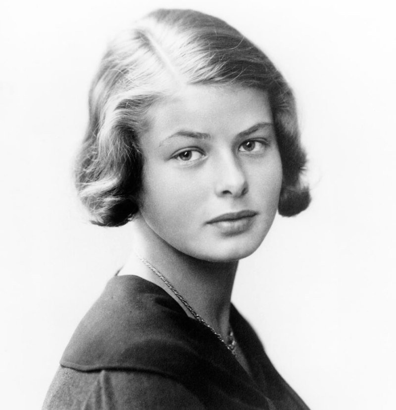 Ingrid Bergman at 16 -- a self-portrait was taken with camera equipment inherited from her father | Source: Wikimedia