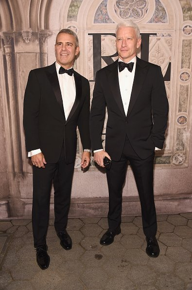 Andy Cohen and Anderson Cooper attend the Ralph Lauren 50th Anniversary. | Photo Credit: Getty Images
