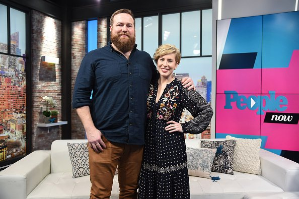 Ben Napier and Erin Napier visit People Now on January 8, 2020 in New York City.   Photo: Getty Images
