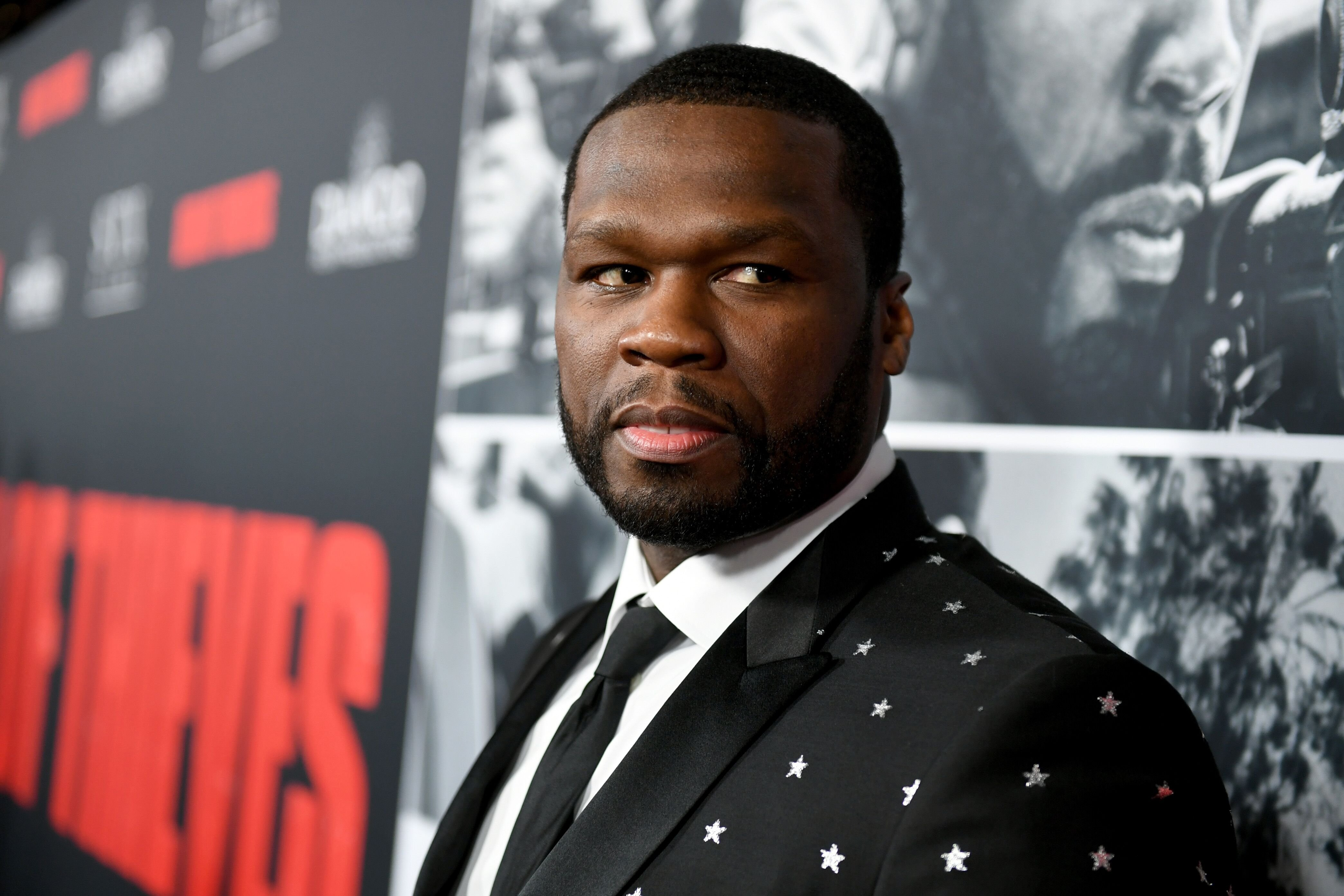 """50 Cent attends the 2018 premiere of """"Den of Thieves"""" in Los Angeles, California 