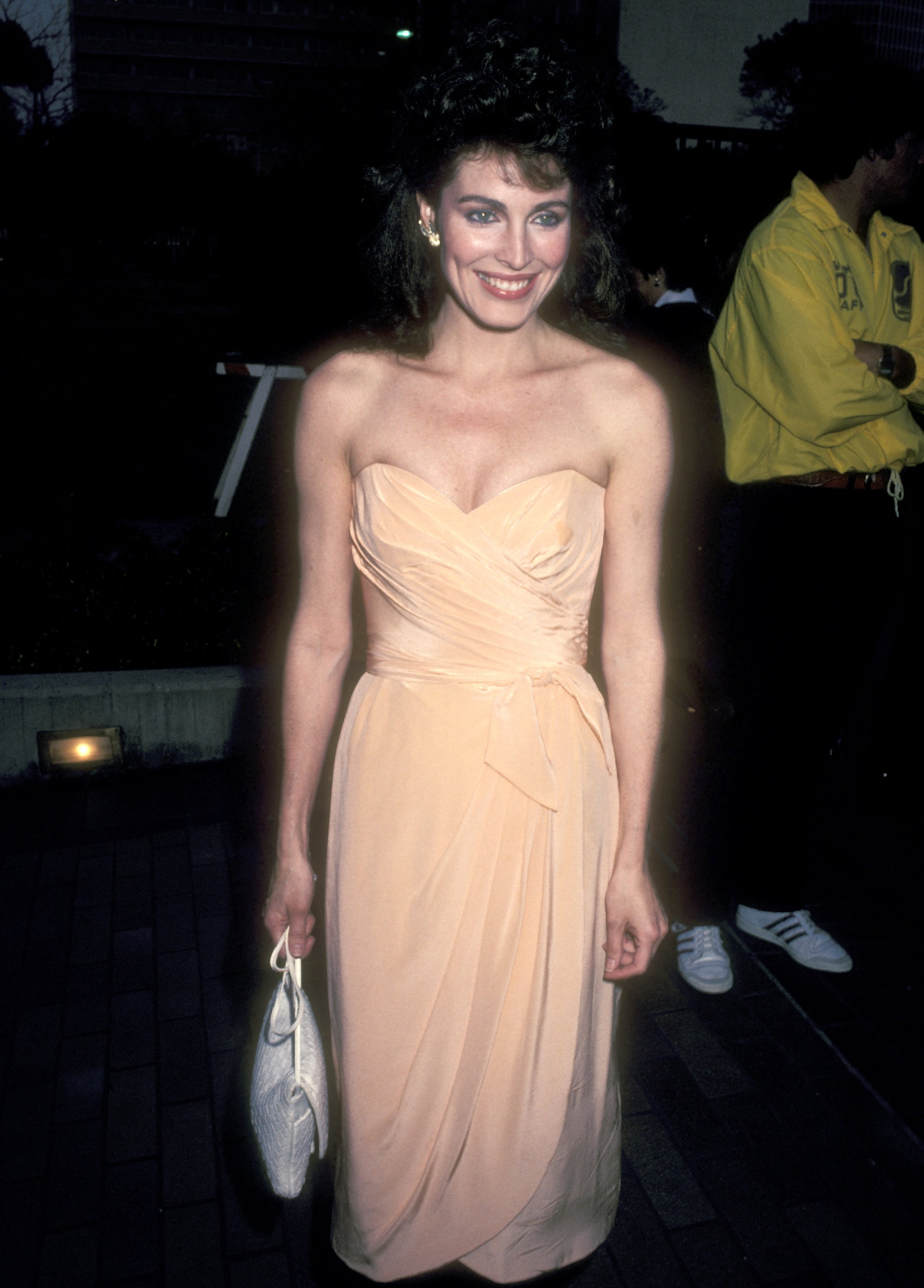 Cynthia Sikes attends the NBC Television Affiliates Party on May 16, 1983 at the La Brea Tar Pits Museum | Photo: Getty Images