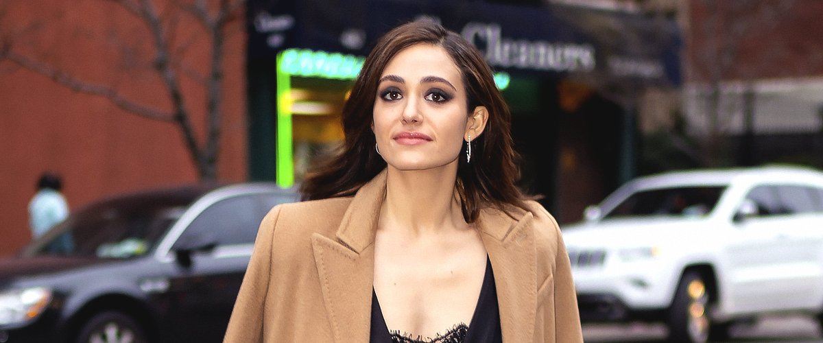 Emmy Rossum is seen in Midtown on April 02, 2019 in New York City | Photo: Getty Images