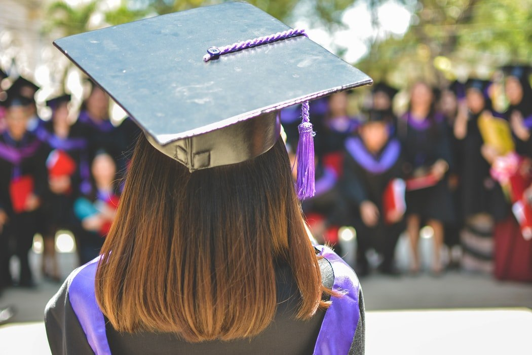 She graduated and her parents didn't notice.   Source: Unsplash