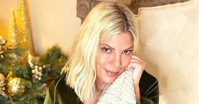 Tori Spelling from 'BH90210' Runs out of Toilet Paper While Sick at Home Amid Coronavirus Fear
