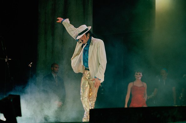 Michael Jackson during a concert in Bremen during the HIStory World Tour, 1997 | Photo: Getty Images