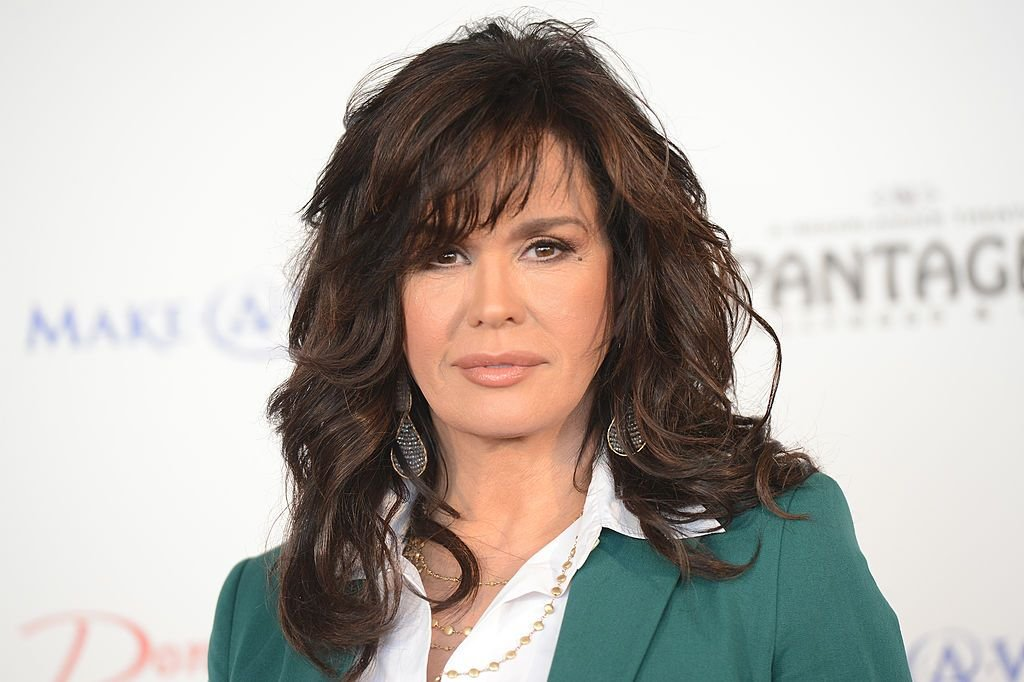Marie Osmond at the 4th Annual National Believe Day at Macy's Pasadena on December 14, 2012 | Photo: Getty Images
