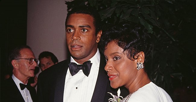 Picture of Ahmad Rashad and his ex-wife, Phylicia Rashad   Photo: Getty Images