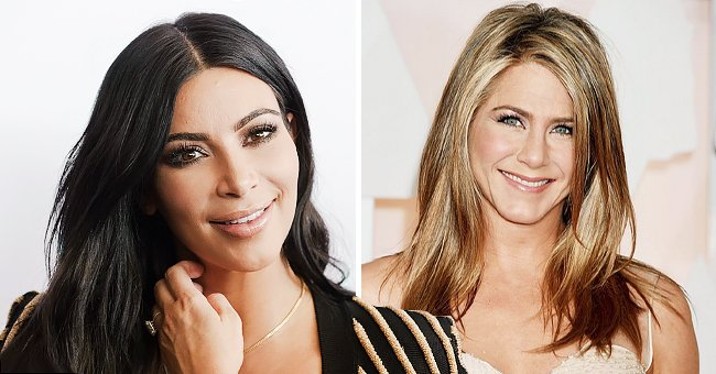 Kim Kardashian attends a 'Sudler' talk during Cannes Lions International Festival of Creativity on June 24, 2015 in Cannes, France   Actress Jennifer Aniston attends the 87th Annual Academy Awards at Hollywood & Highland Center on February 22, 2015 in Hollywood, California   Photo: Getty Images