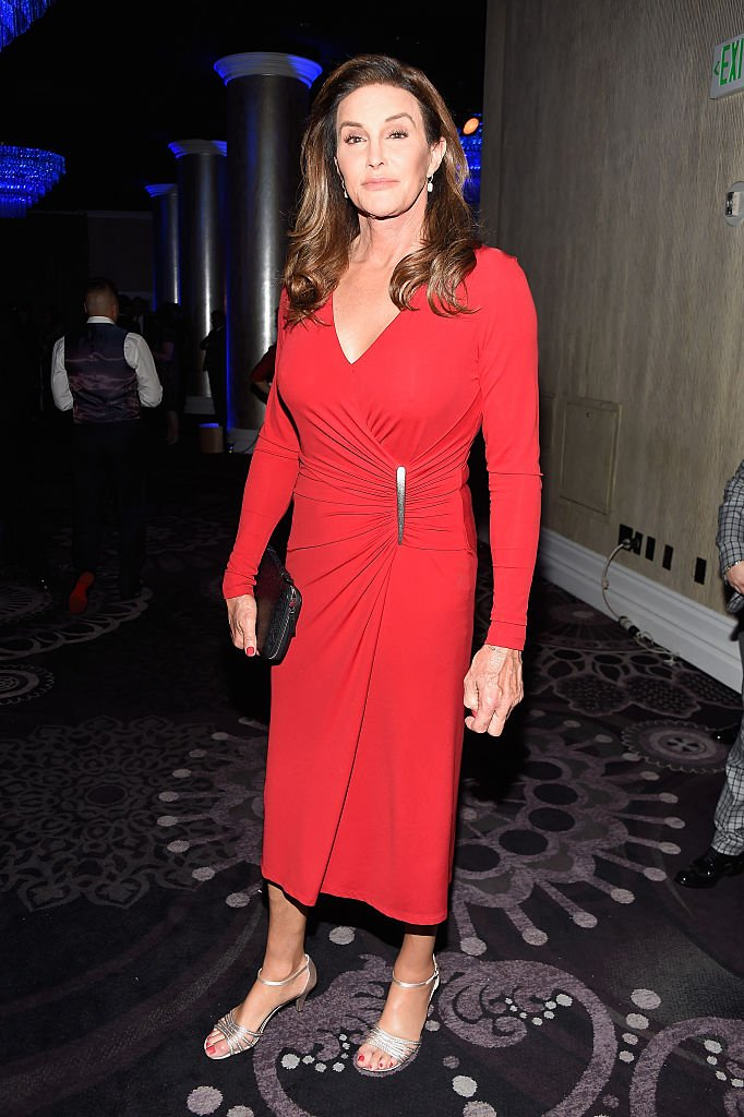 Caitlyn Jenner attending the 27th Annual GLAAD Media Awards in Beverly Hills, California, in April 2016. | Image: Getty Images.