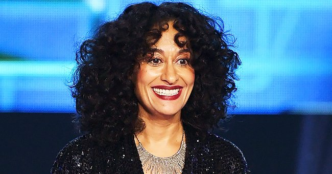 Tracee Ellis Ross Shows Her Flat Abs as She Dances in a Blue Bikini Top and Pants in a Video on Vacation