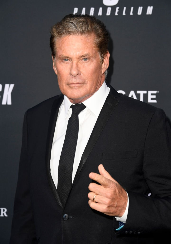 David Hasselhoff at TCL Chinese Theatre on May 15, 2019 | Photo: Getty Images