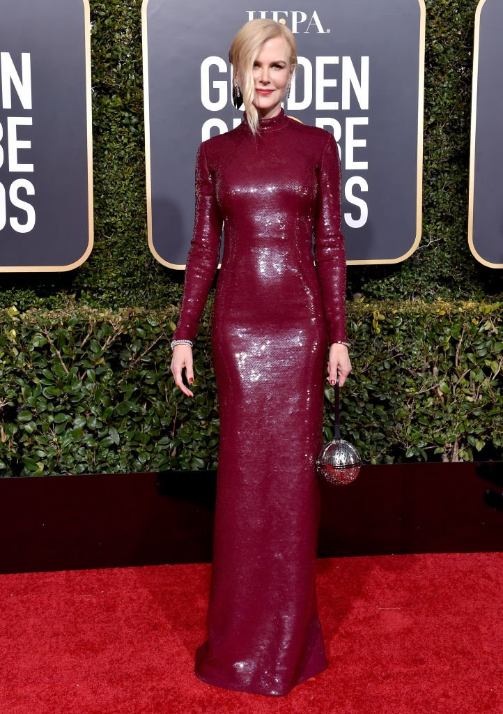 Nicole Kidman at the 76th Annual Golden Globe Awards on January 6, 2019, in Beverly Hills | Source: Getty Images