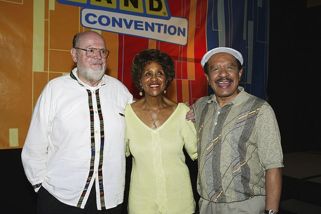 "The Jefferson's"" Ned Wertimer, Marla Gibbs and Sherman Hemsley appear at the First Official TV Land Convention at the Burbank Airport Hilton 