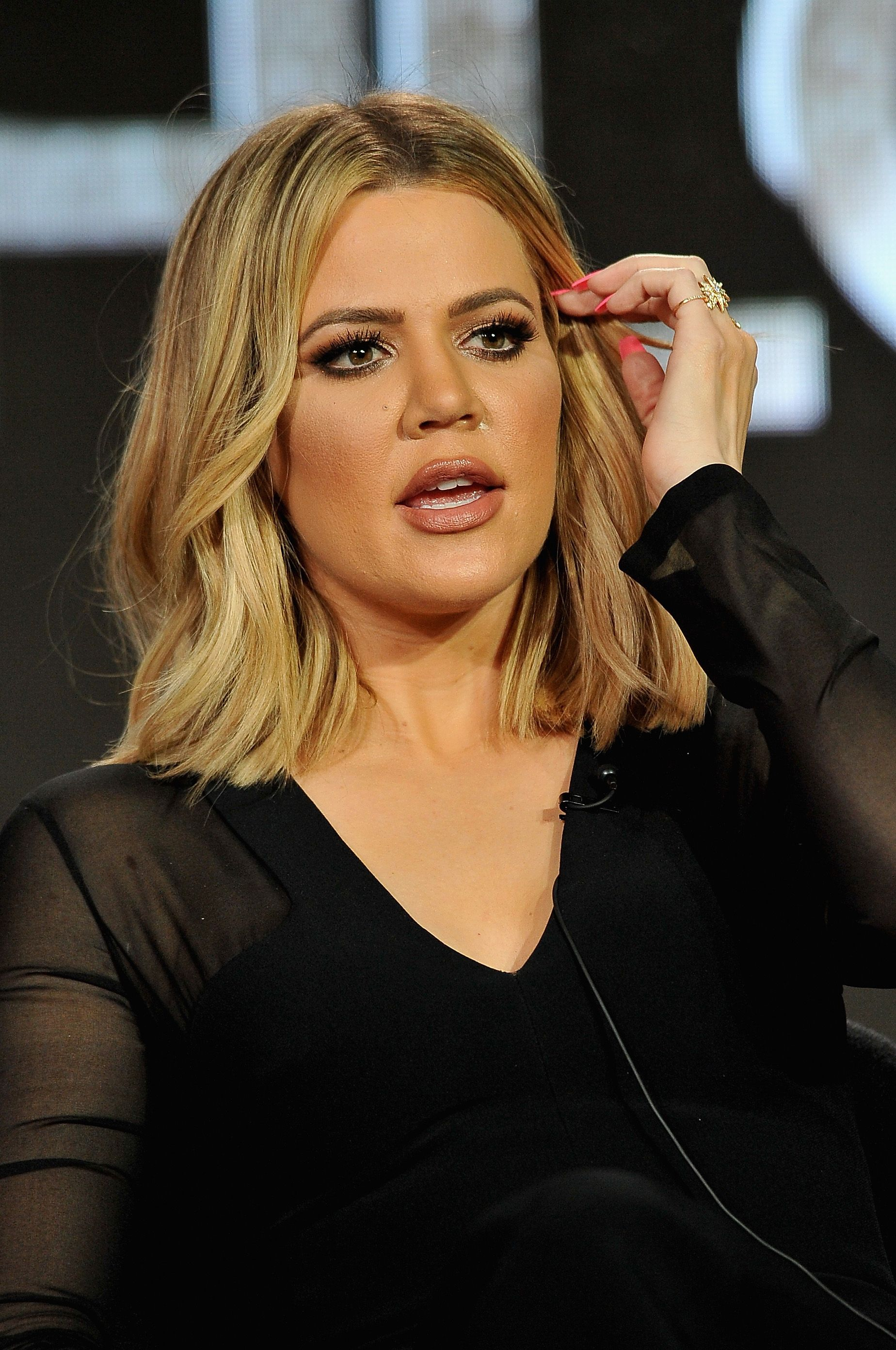 Khloe Kardashian  speaks onstage during the A+E Networks 2016 Television Critics Association Press Tour at The Langham Huntington Hotel and Spa on January 6, 2016 i. | Photo: Getty Images