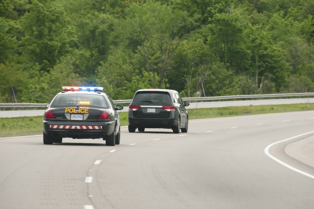 An image of a Police chase.   Photo: Shutterstock