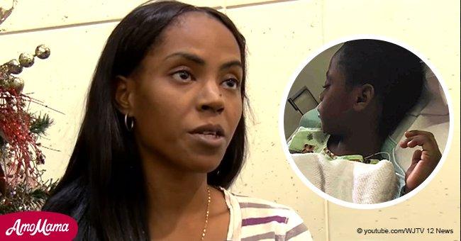 Eine Frau warnt die anderen Eltern, nachdem sich ihr Sohn mit einer seltenen Krankheit infiziert hatte