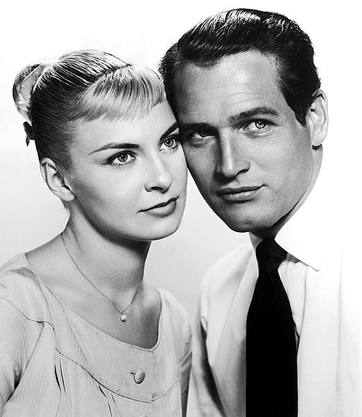 """Joanne Woodward and Paul Newman in the movie """"The Long, Hot Summer."""" 