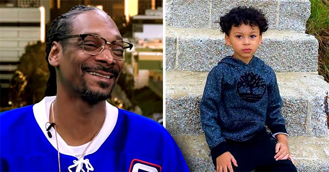 Snoop Dogg's Growing Grandson Zion Poses in New Photo and Fans Say He Is Handsome