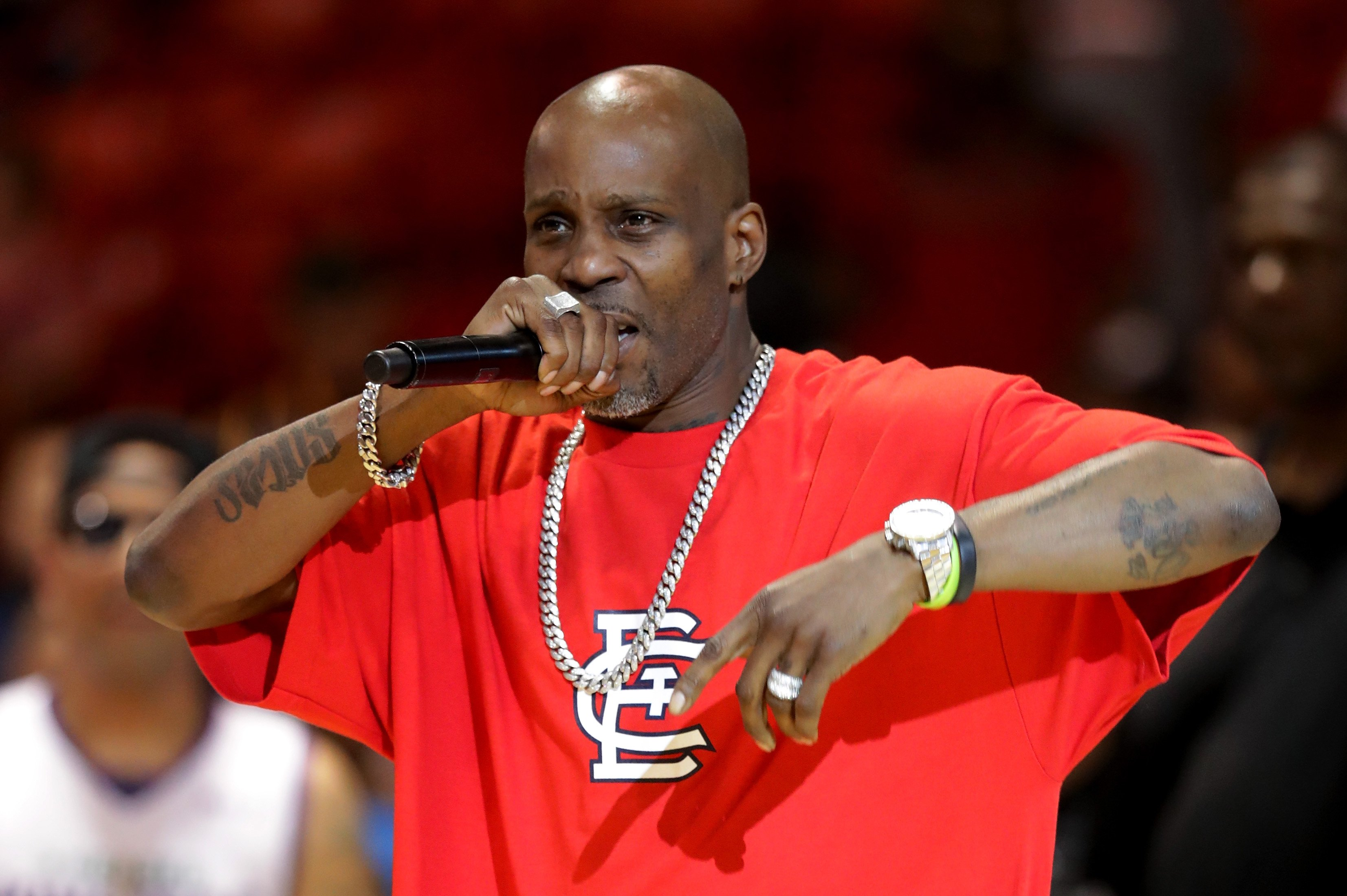 Rapper DMX performs during week five of the BIG3 three on three basketball league at UIC Pavilion on July 23, 2017 | Photo: Getty Images