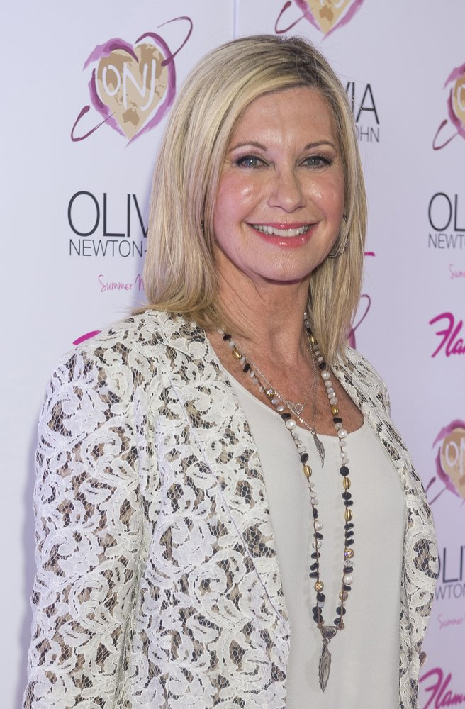 Entertainer Olivia Newton-John attends the grand opening of her residency show 'Summer Nights' at Flamingo Las Vegas on April 11, 2014 | Source: Shutterstock