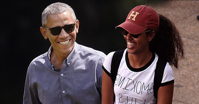 See Malia Obama and Dad Barack Enjoy Hike through Mountains in France