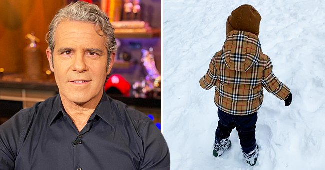 Watch Andy Cohen's 22-Month-Old Son Ben as He Experiences His 1st Snow Storm in New York City